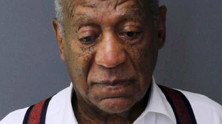 This picture provided by the Montgomery Prison shows Bill Cosby on Tuesday, September 25, 2018, after being sentenced to three to ten years for sexual assault.
