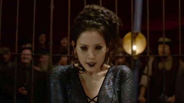 Claudia Kim's character has upset fans of the Harry Potter spin off Fantastic Beasts