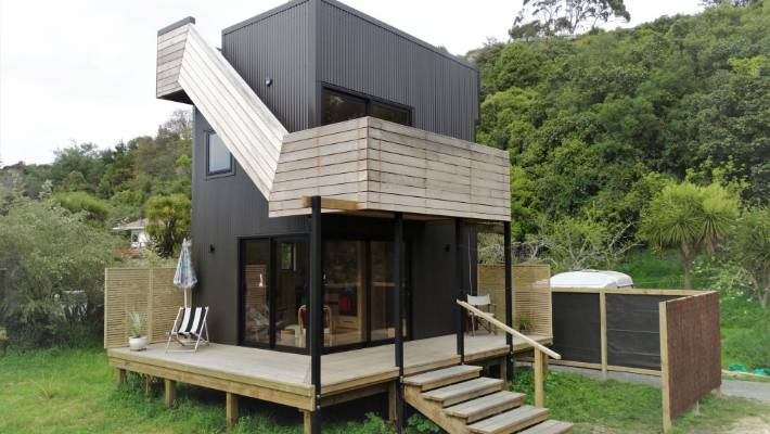 Tiny Home Pioneer Comes To Nelson Stuff Co Nz