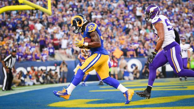 Jared Goff hailed after Rams beat Vikings