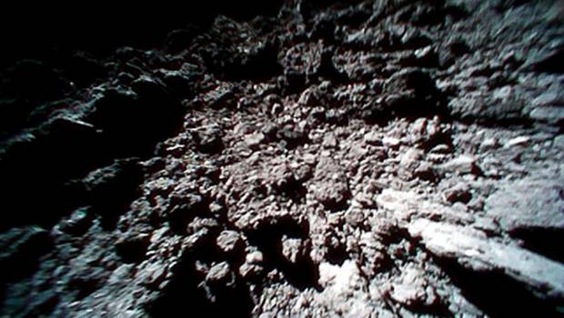 Japan's Rovers on Asteroid Ryugu Send More Images and a Video