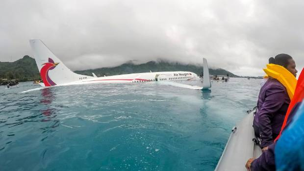The plane crashed on its approach to Chuuk International Airport in the Federated States of Micronesia
