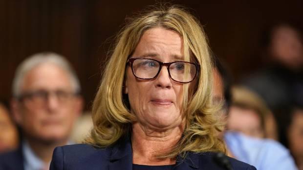 'Look at me:' Women confront key Republican senator over Kavanaugh vote