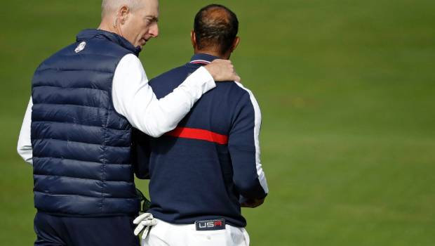 Whitewash! Europe sweep foursomes to stun United States and lead 5-3