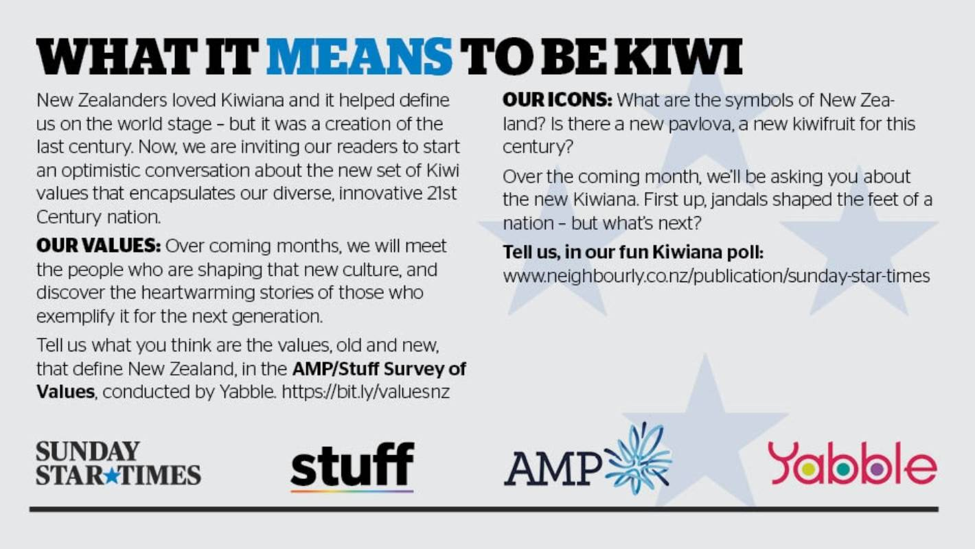 Have Your Say What It Means To Be Kiwi In The 21st Century Stuff