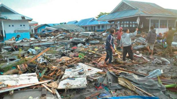 Britain sending experts to Indonesia in aftermath of devastating quake