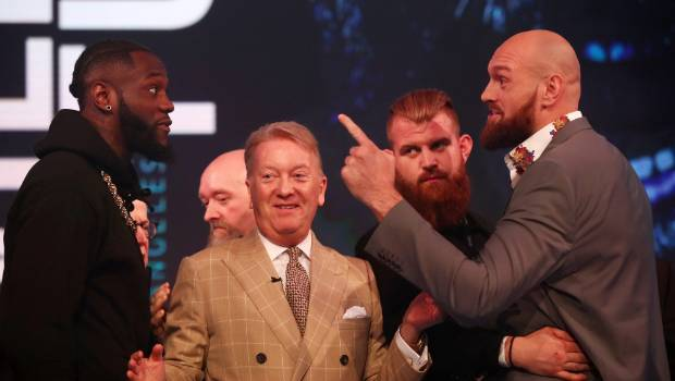 Tyson Fury: I want a war with `dosser´ Deontay Wilder