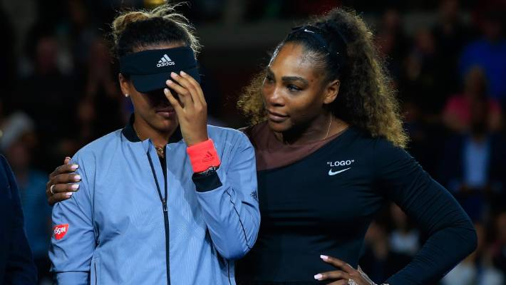 Federer says Serena 'went too far' in US Open final