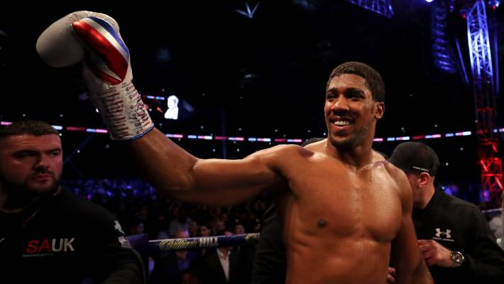 Anthony Joshua breaks silence on Tyson Fury's draw with Deontay Wilder