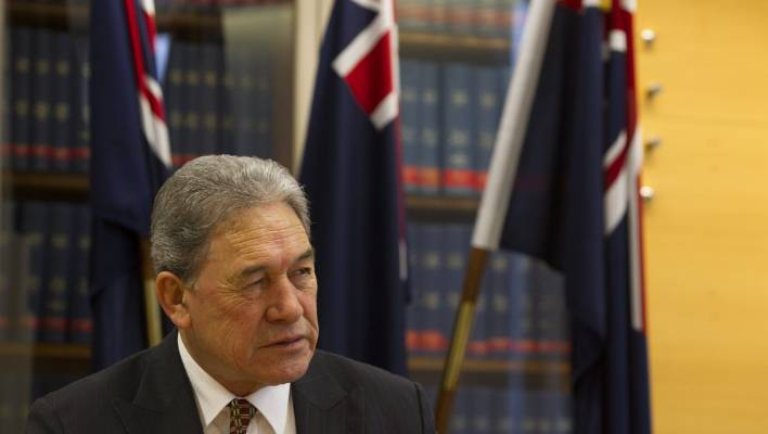 77eab95cac64 Winston Peters believes China have misunderstood the decision to stop Spark  using Huawei for a 5G