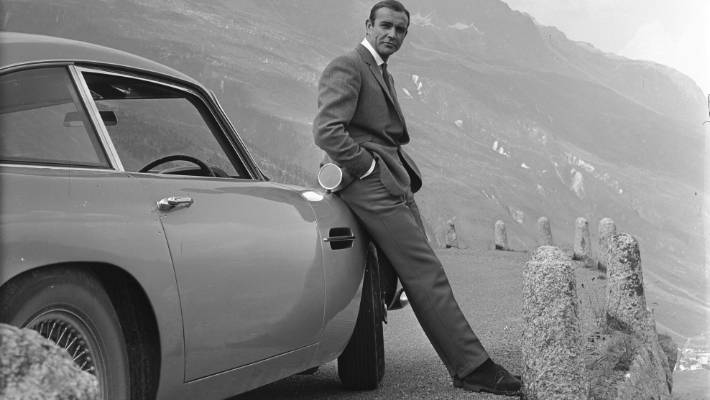 Sean Connery as the original James Bond.