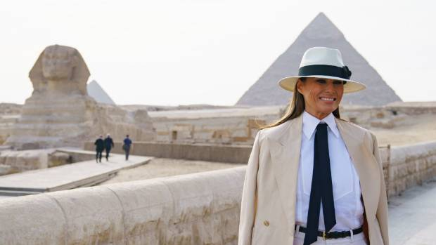 FLOTUS Melania on Trump's Alleged Affairs: 'Not Focus of Mine'