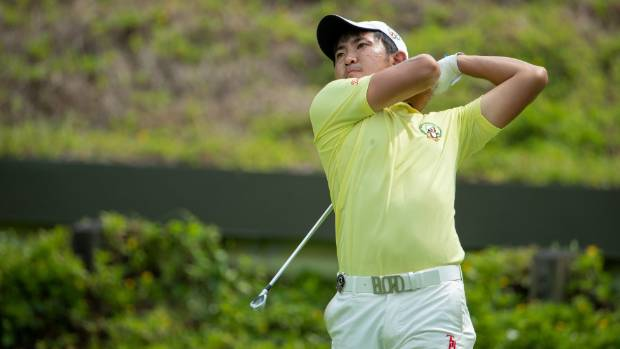 Defending champ Lin takes Asia Amateur lead with 62