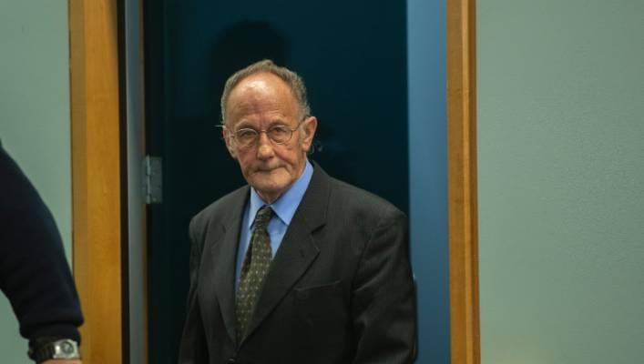 Stewart Murray Wilson at the opening of his trial in October.