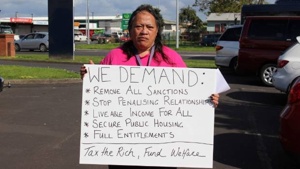 South Auckland woman Kat   hleen Paraha was among the people who went along to the Government's welfare expert advisory group public consultation in Māngere East today.