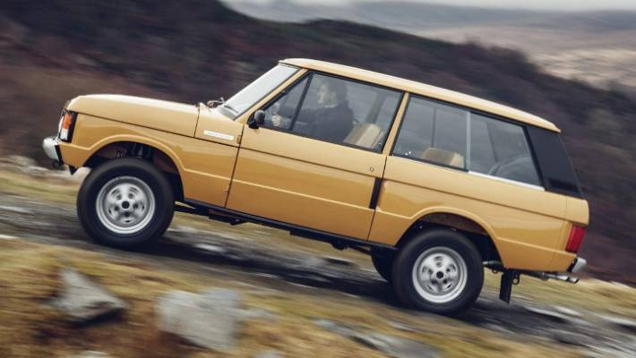 8205848312 The original Range Rover was the first car to ever go on display in the  Louvre