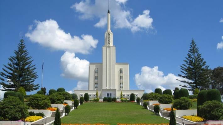The country's second Mormon temple to be built in Auckland