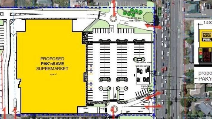 The Proposed Layout Of Supermarket