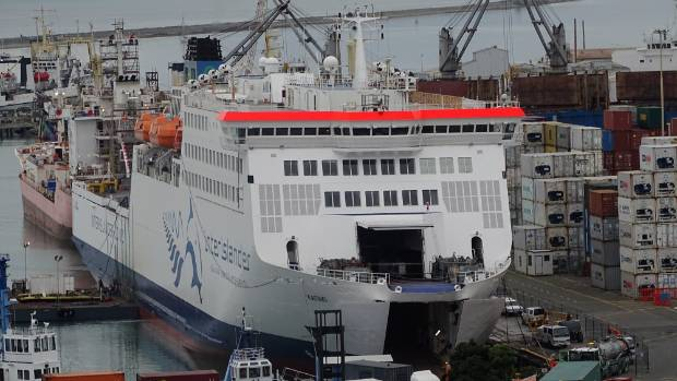 The Interislander ferry Kaitaki at Port Nelson. She has served New Zealand's interests well but is nearing the end of her operational life.