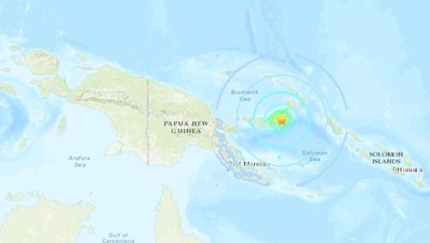Quake hits Papua New Guinea, no damage or injuries reported