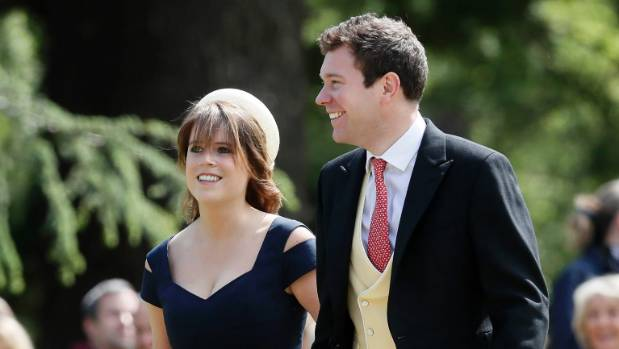 Princess Eugenie and Jack Brooksbank were engaged in January