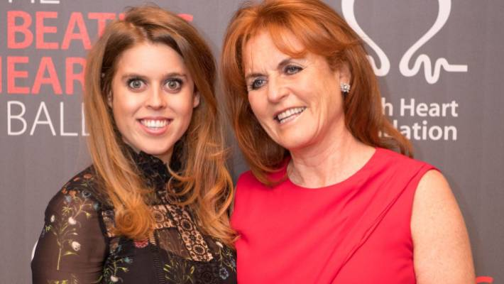 Princess Beatrice Fergie Tried To Talk Prince Andrew Out Of Bbc