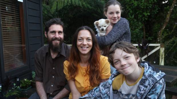 Keri and Gareth from Waitakarere and their children took part in the first series of HOMEmade.