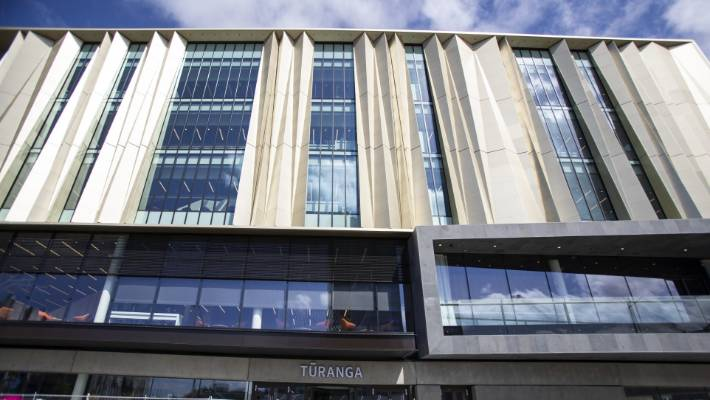 Tūranga, Christchurch's new central library, is open for business.