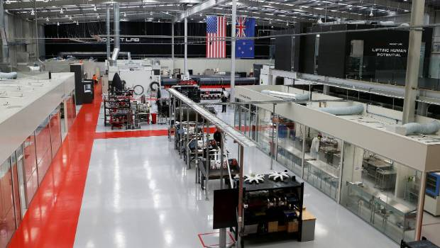 The huge 7500 square metre mass production site in Mount Wellington will add to Rocket Lab's existing production facility and headquarters in California.