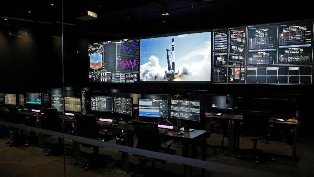 Rocket Lab's new mission control in Mount Wellington will control all of its global launches.