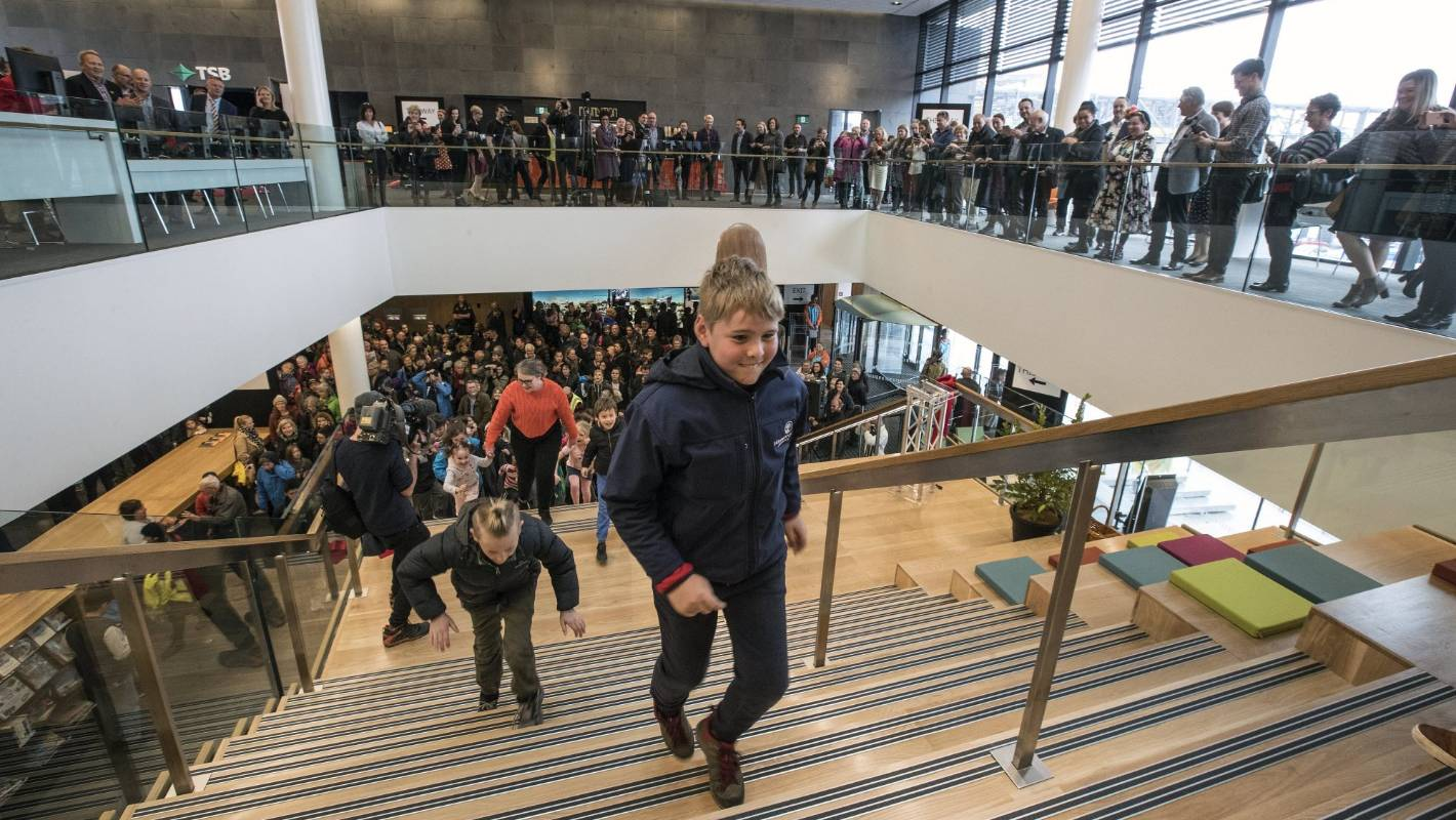 Christchurch Central News: Doors Open To Christchurch's New Central Library, Tūranga