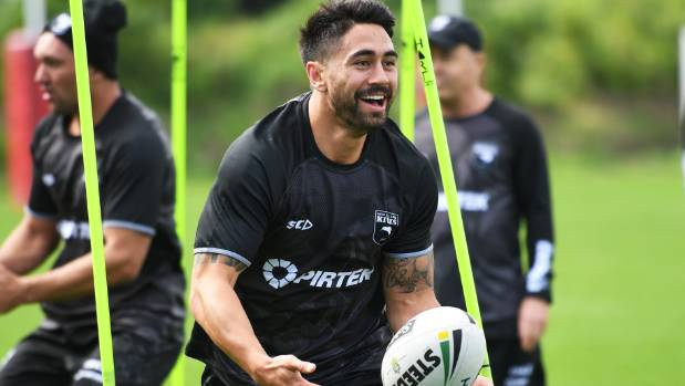 Shaun Johnson will be teaming up with Kodi Nikorima in the halves