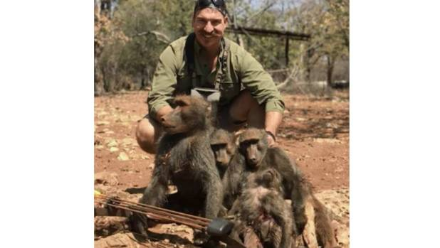 Idaho Fish and Game Commissioner resigns amid graphic baboon hunting photo controversy