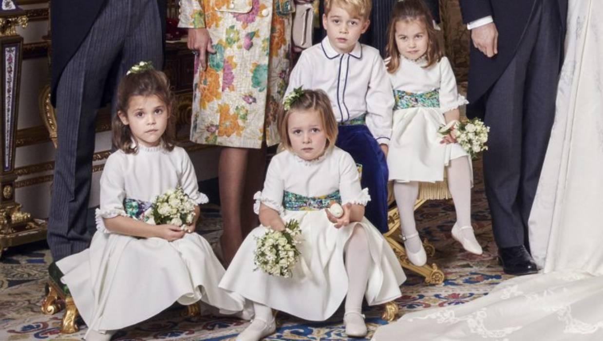 e37fa2ed0e1d0 Mia Tindall grabs the spotlight in Princess Eugenie s wedding photos ...