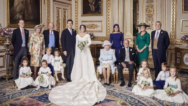 Buckingham Palace shares Princess Eugenie's official wedding photos