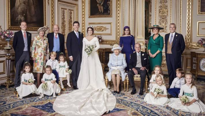 Buckingham Palace Shares Princess Eugenie S Official Wedding Photos