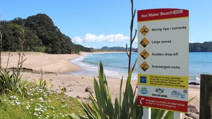 Hot water beach drowning