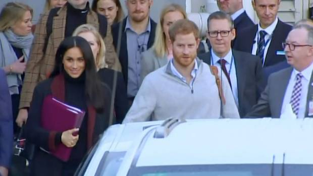 Alex Jones joins Prince Harry and Meghan Markle in Australia