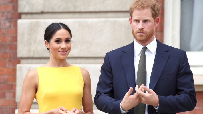Harry and Meghan at Maori ceremony as royal tour ends