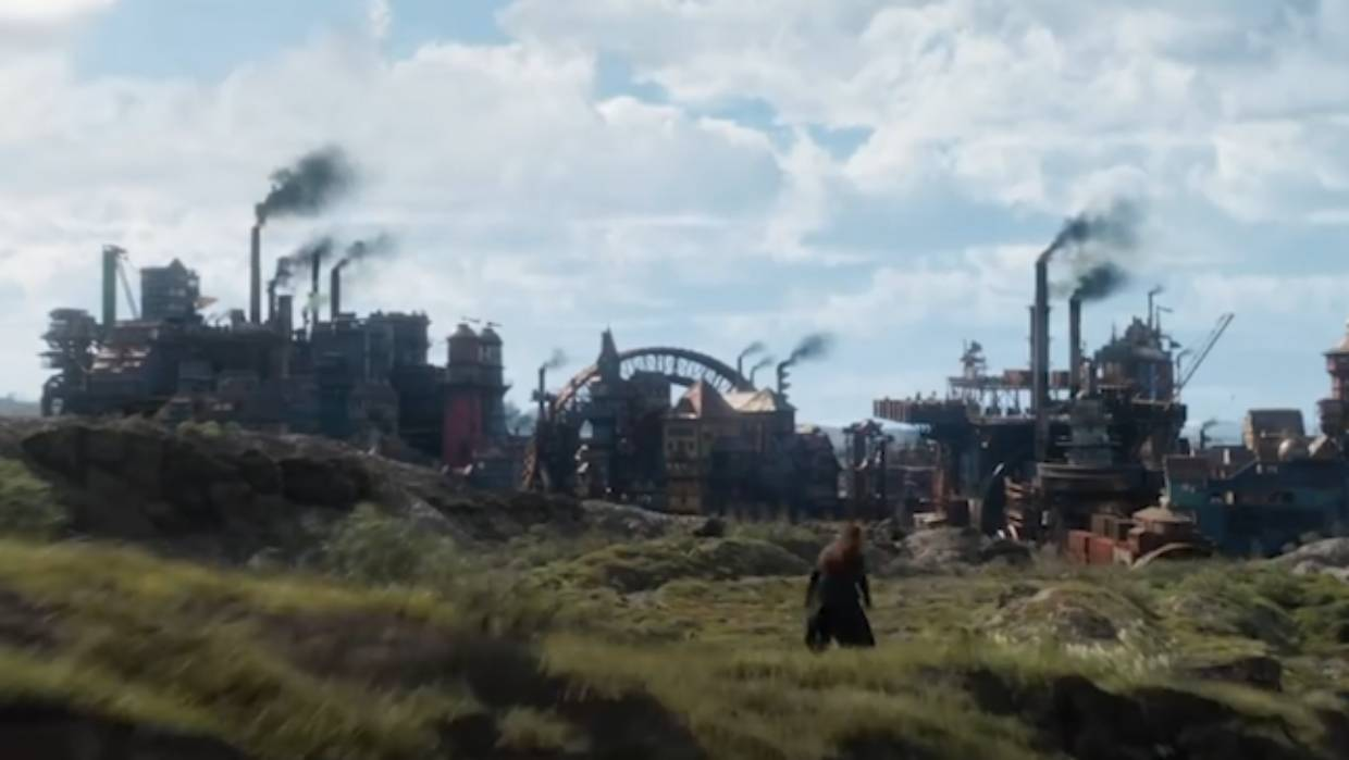 Mortal Engines' traction cities are a major part of the book series.