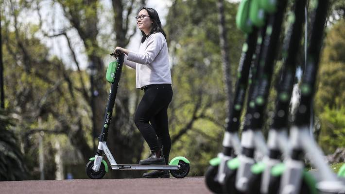Lime e-scooter trial in Auckland extended