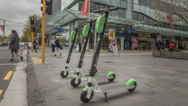 Safety concerns raised as electric scooters arrive in New