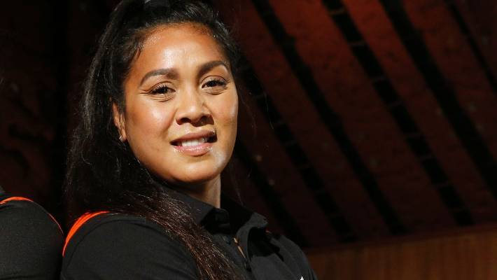 Linda Itunu goes from rugby at the end of the Black Ferns European Tour.