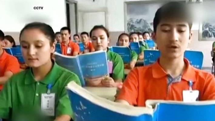"In a media campaign, the Chinese Government described the facilities as ""vocational training centres"" where Uighur Muslims learn Mandarin, law and other skills."