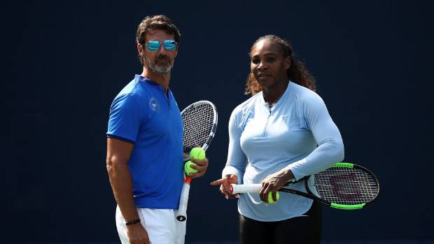 Serena Williams coach favours on-court coaching
