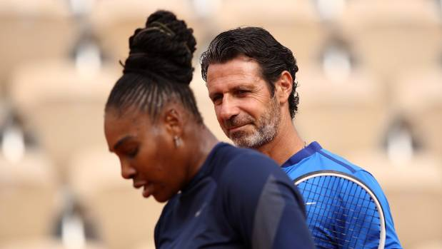 Serena's Coach Mouratoglou Calls for On-Court Coaching in Tennis