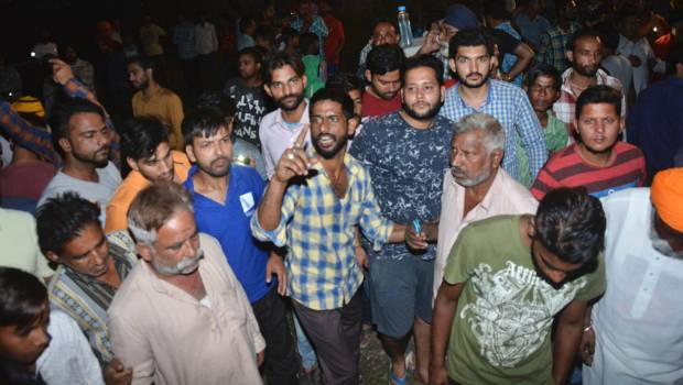 Amritsar train tragedy: Justice remain elusive, police evict protesters from accident site