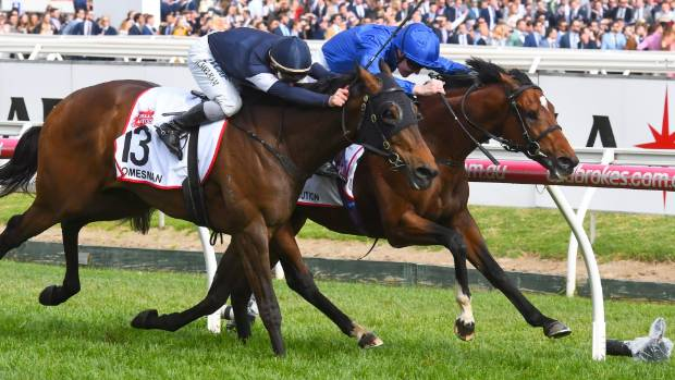 Best Solution wins prestigious Caulfield Cup for Godolphin and Pat Cosgrave
