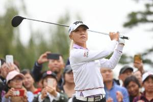 A final round of six-under 66 saw Lydia Ko get within touching distance of the lead.