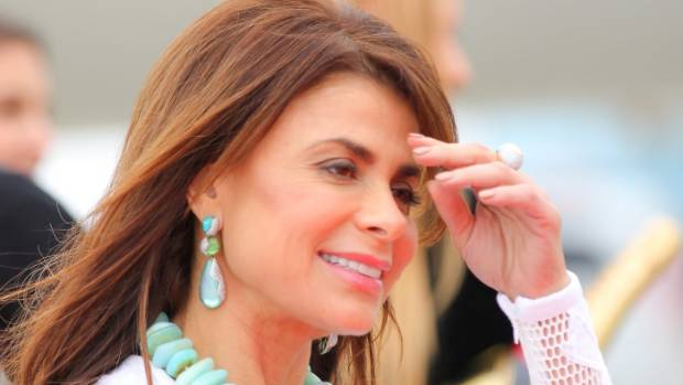 Singer Paula Abdul falls off stage during live show